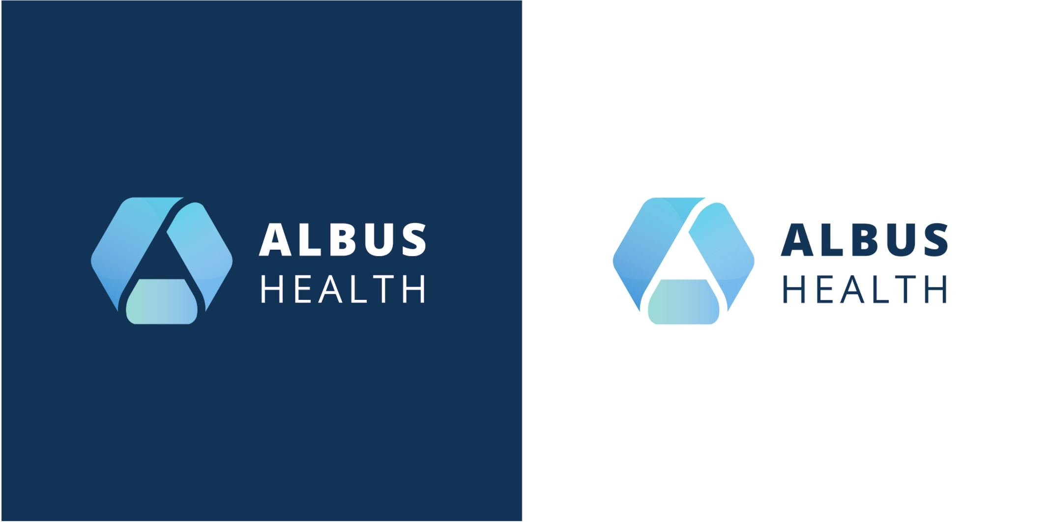 Branding for healthcare start-up Albus Health