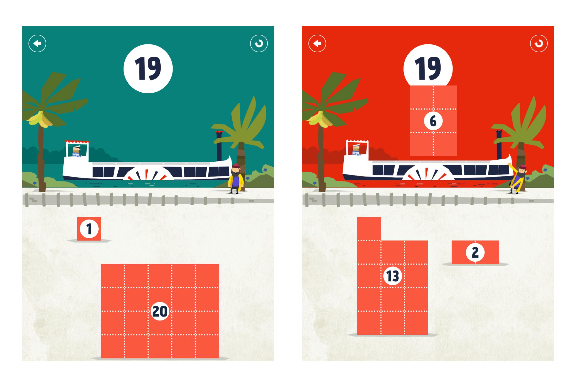 Error state on game 'Fiete Math' for children on iPad